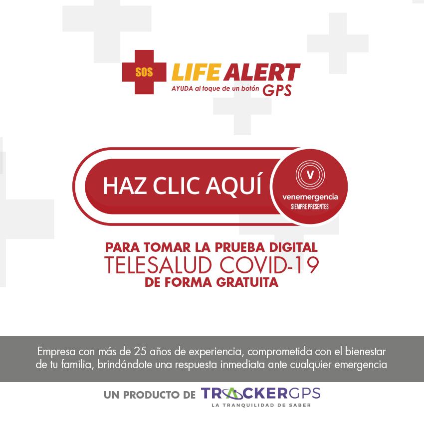 Life Alert GPS - Prueba Digital Gratuita COVID-19